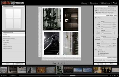 Lightroom Printing