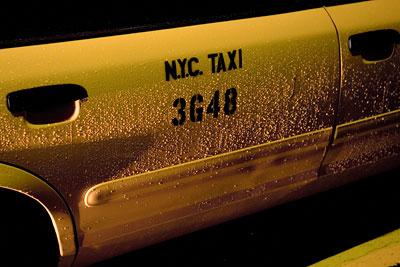 Rainy Cab